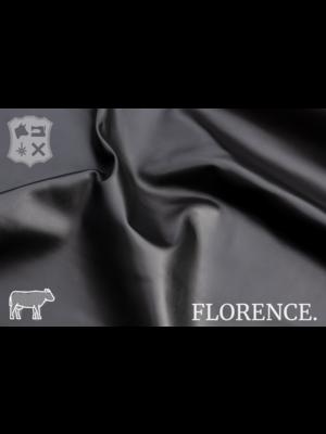 Florence Onyx - Florence collectie: Strak glad leder met een zijdeglans
