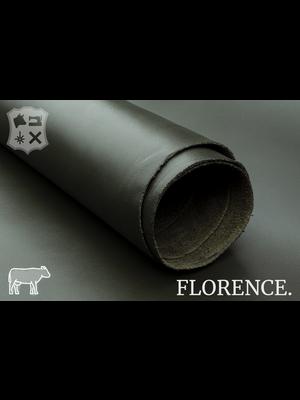 Florence Glad leder met een zijdeglans (D15: Olive)