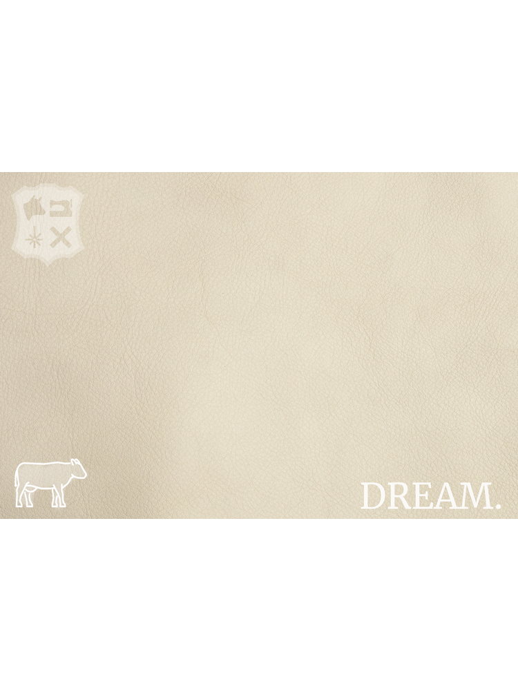 Dream Kleur Popcorn - Dream Leder (nappa leder)