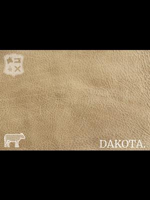 Dakota Analine gelooid nappa leder (X09: Desert)