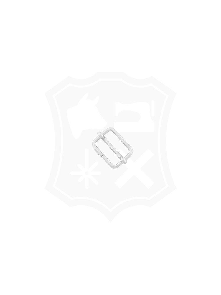 Schuifgesp, nikkelkleurig, binnenmaat 20mm (2 stuks)