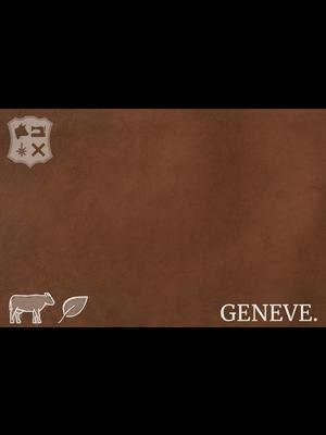 Geneve Plantaardig gelooid nappa leder (V15: Chestnut)