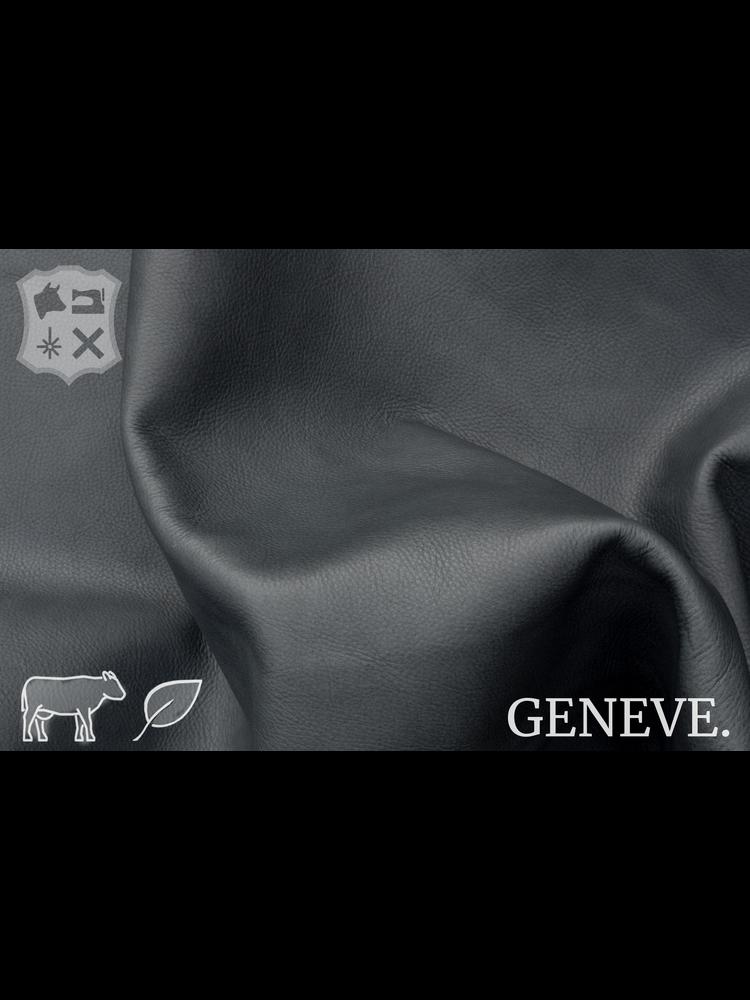Geneve Plantaardig gelooid nappa leder in de kleur Rhino Grey - De Geneve collectie