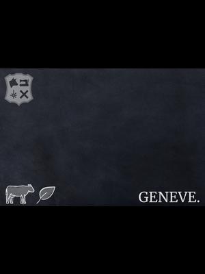 Geneve Plantaardig gelooid nappa leder (AD18: Atlantic)