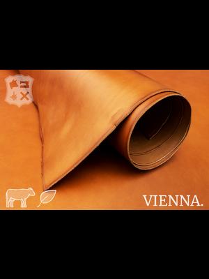 Vienna Plantaardig gelooid tuigleder (D19: Cognac)