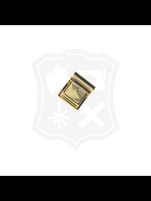 Tic-Tuc Slot, goudkleurig, 30mm x 35mm, tussenmaat 4,5mm