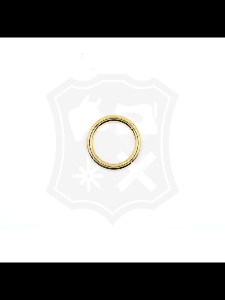 Ronde Ring, goudkleurig, diverse maten