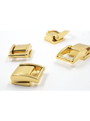 Luxe Tashengsel Bevestiging, uitschuifbaar, goudkleurig, 19,9mm (set)