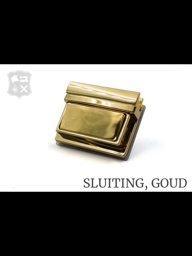 Tic-Tuc Slot, goudkleurig, 49,3mm x 50mm