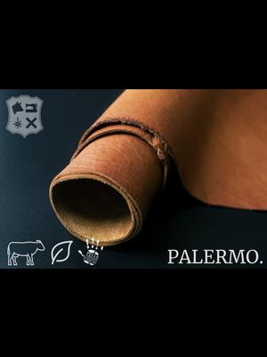 Palermo Soepel plantaardig gelooid tuigleder (D19: Brandy)