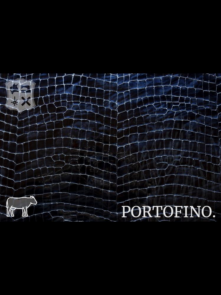 Portofino Portofino Lakleder met luxe print, Two-Tone  (K15: Midnight)