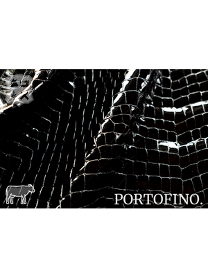 Portofino Lakleder met luxe print, (ZA19: Outerspace)