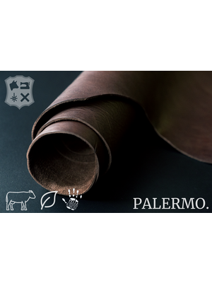 Palermo Soepel plantaardig gelooid tuigleder (V16: Dark Brown)