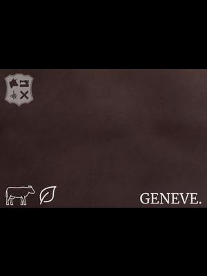 Geneve Plantaardig gelooid nappa leder (W20: Ebony)