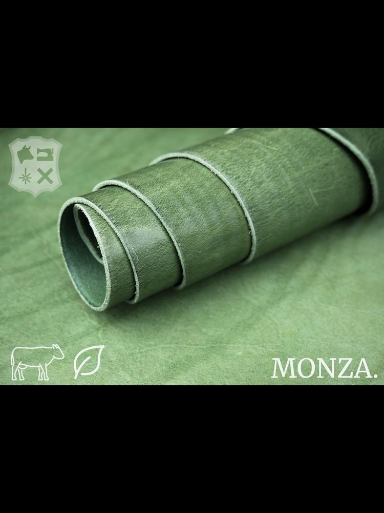 Monza Bamboo groen plantaardig gelooid tuigleder - De Monza Collectie