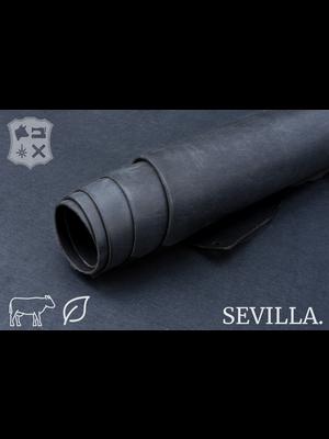 Sevilla Plantaardig gelooid tuigleder (ZA18: Ash)