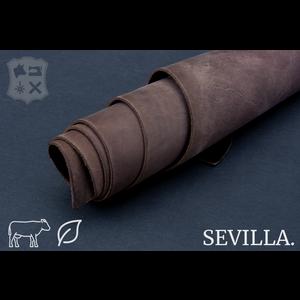 Sevilla Dry Soil bruin plantaardig gelooid tuigleder - De Sevilla Collectie
