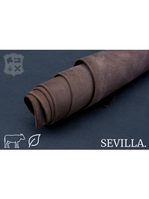 Sevilla Plantaardig gelooid tuigleder (Y14: Dry Soil)