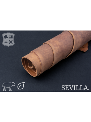 Sevilla Plantaardig gelooid tuigleder (W16: Cinnamon)