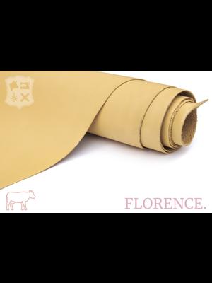 Florence Glad leder met een zijdeglans (ZZA04: Buttercream)