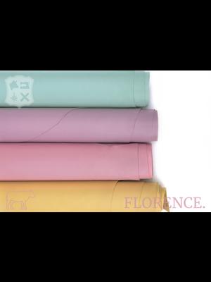 Florence Bubblegum - Florence collectie: Strak glad leder met een zijdeglans
