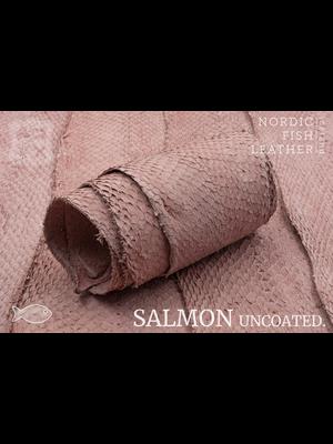 Nordic Fish Leather Zalm, niet gefinisht (S17: Bliða 952s)