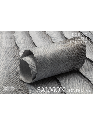 Nordic Fish Leather Zalm, gefinisht met zijdeglans, gesloten (X17: Natural 910s)