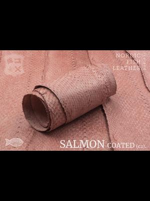 Nordic Fish Leather Zalm, gefinisht met zijdeglans, gesloten (S17: Bliða 952s)