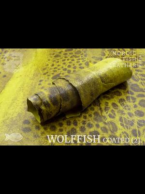 Nordic Fish Leather Gevlekte Zeewolf, gefinisht met zijdeglans (E17: Glói 882s)