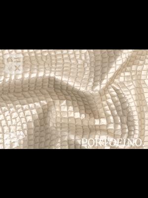 Portofino Lakleder met luxe print, (W2: Crema)