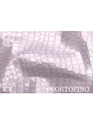 Portofino Lakleder met luxe print, (O2: Lavanda)