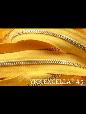 YKK Excella® Excella® #5 Goud van de rol - (B13 - Geel 001)