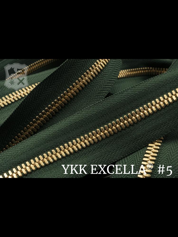 YKK Excella® Excella® #5 Goud van de rol - (F17 - Groen 153)