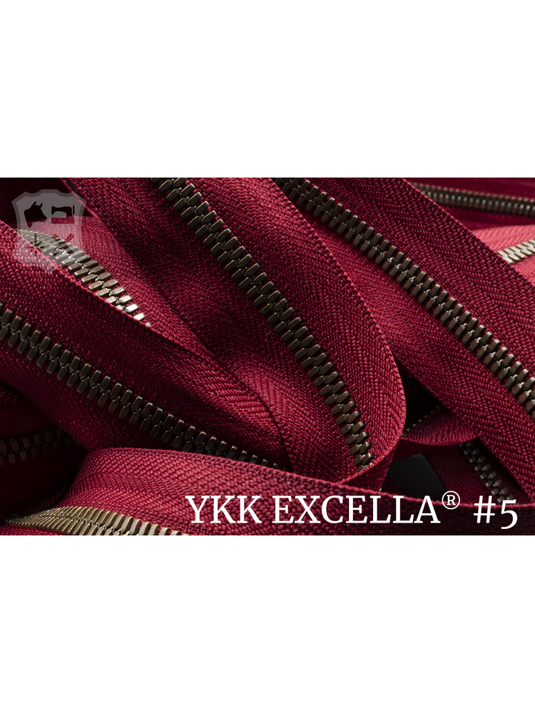 YKK Excella® Excella® #5 Oud-Goud van de rol - (T18: Rood 520)