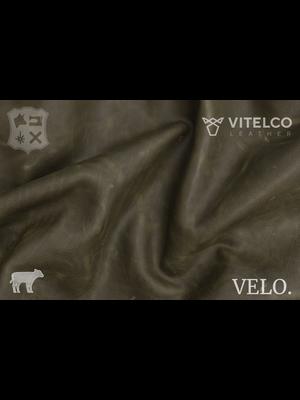 Vitelco Leather Nederlands Pull-up Kalfsleder (D14: Olive)