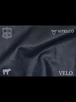 Vitelco Leather Nederlands Pull-up Kalfsleder (ZD19: Navy)