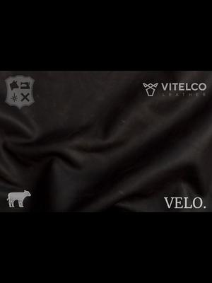Vitelco Leather Nederlands Pull-up Kalfsleder (V19: Mid Brown)