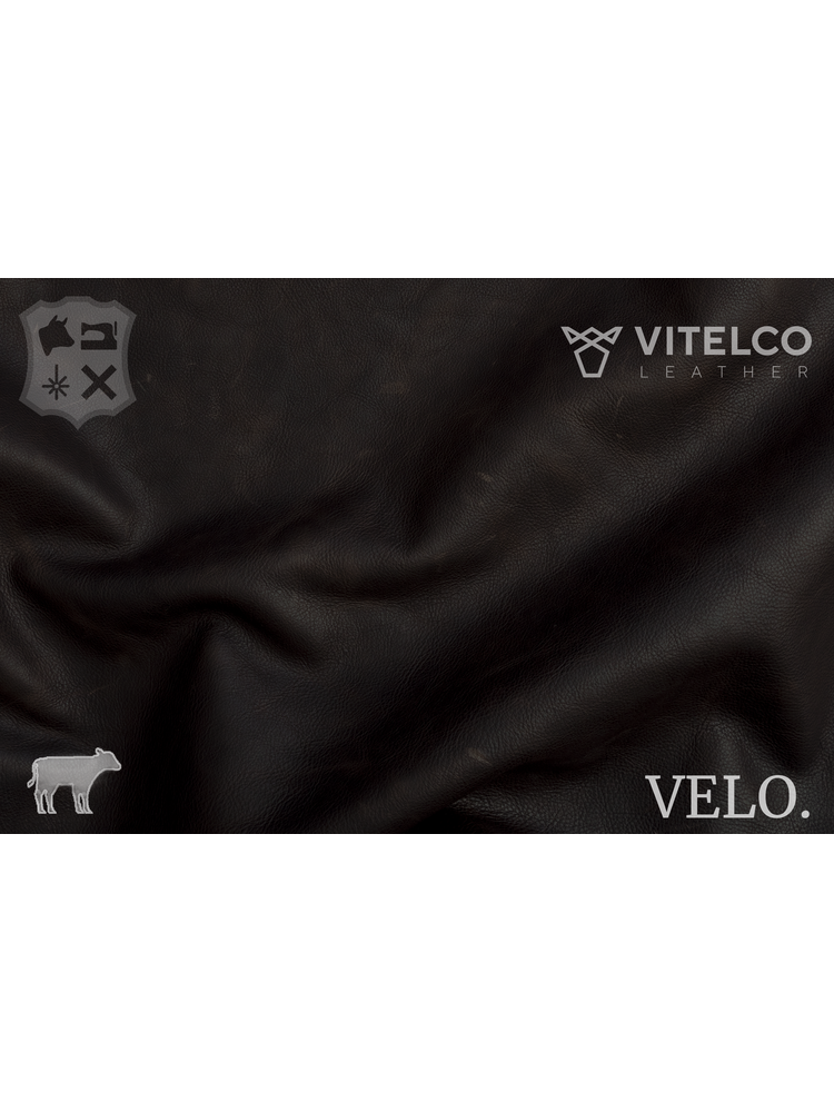 Vitelco Leather Mid Brown - Velo collectie: Kalfsleder met een pull-up - Copy