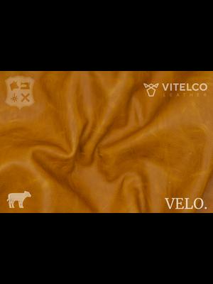 Vitelco Leather Nederlands Pull-up Kalfsleder (B20: Camel)