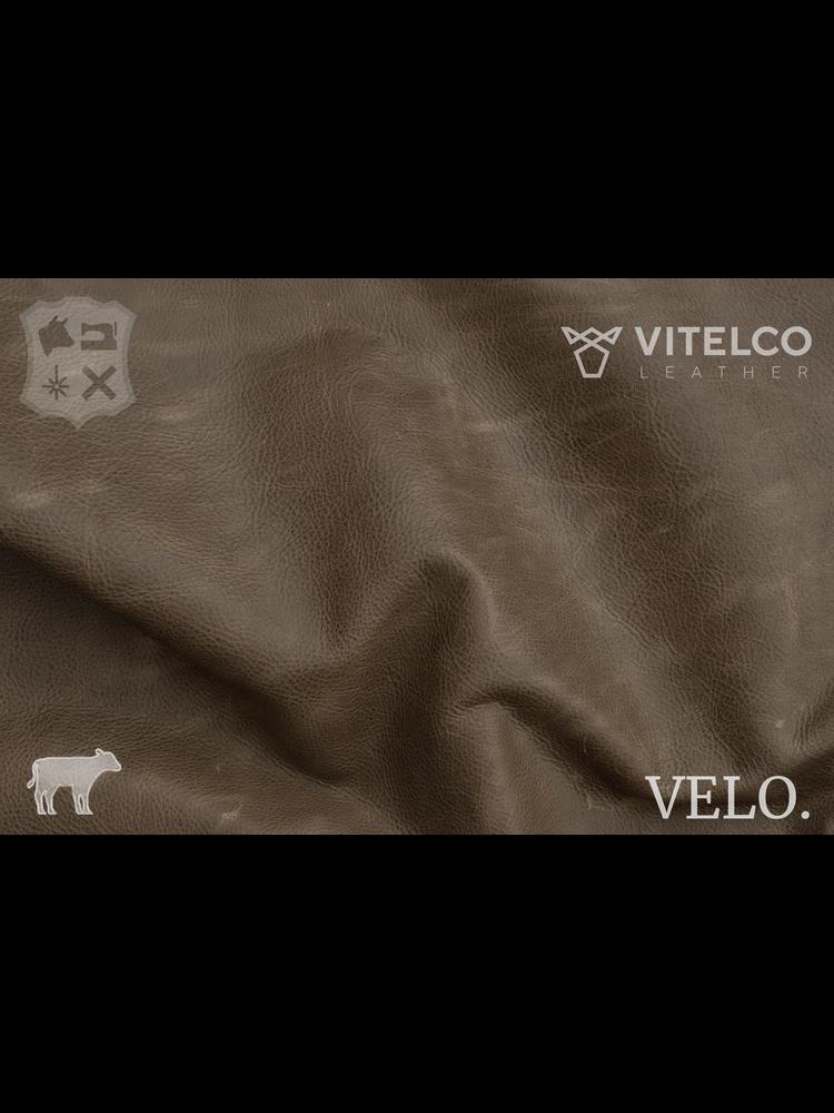 Vitelco Leather Sand - Velo collectie: Kalfsleder met een pull-up