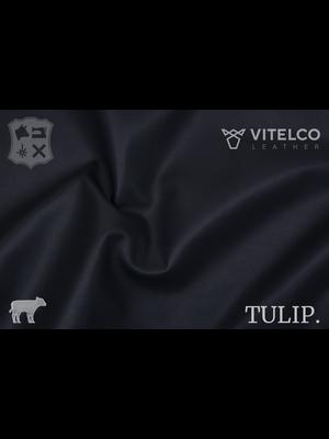 Vitelco Leather Navy Blauw - Tulip collectie: Soepele kalfsleder met een rijke en zachte touch
