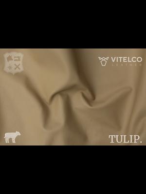 Vitelco Leather Soepele Premium Kalfsnappa (W7: Beige)