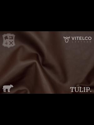 Vitelco Leather Soepele Premium Kalfsnappa (W20: Tuscany Brown)