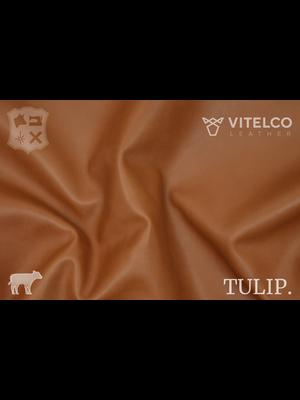 Vitelco Leather Soepele Premium Kalfsnappa (V12: Noble Brandy)