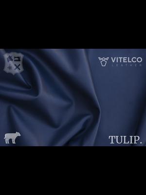 Vitelco Leather Soepele Premium Kalfsnappa (L18: Jasper Blue)