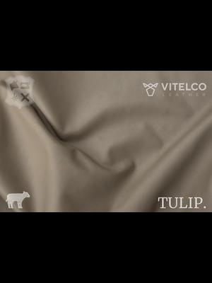 Vitelco Leather Soepele Premium Kalfsnappa (Z6: Taupe)