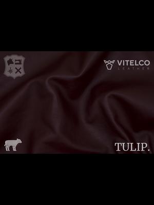 Vitelco Leather Soepele Premium Kalfsnappa (T18: Oxblood)