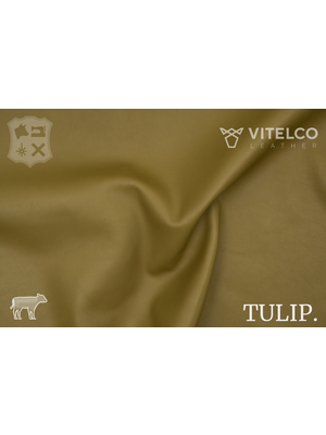 Vitelco Leather Soepele Premium Kalfsnappa (D10: Olive)