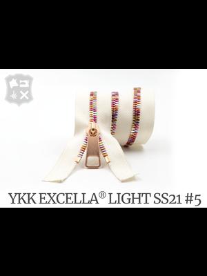 YKK Excella® YKK Excella Light #5 Summer '21 op maat (enkel)