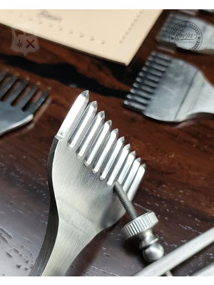 Kevin Lee Tools Basis Diamant stijl Leervorken set (Basic Diamond Pricking Irons)